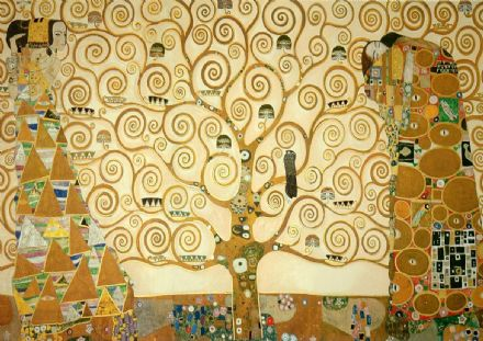 Klimt, Gustav: The Tree of Life. Fine Art Print/Poster. Sizes: A4/A3/A2/A1 (00313)
